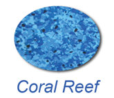 coral reef inground swimming pool liner colour