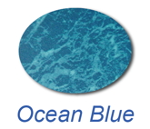 ocean blue inground swimming pool liner colour
