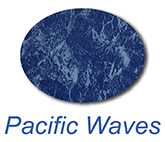 pacific waves inground swimming pool liner colour