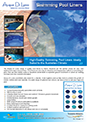 Acqua di Lusso pool liner brochure for Download