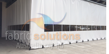 Industrial All Weather And Warehouse Curtains
