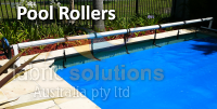 Pool rollers not only help protect your pool cover, but make it easier to remove and put back on