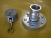 2 inch cam lock with steel flange