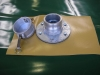 3 inch cam lock with steel flange