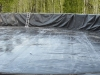 Frac tank with liner