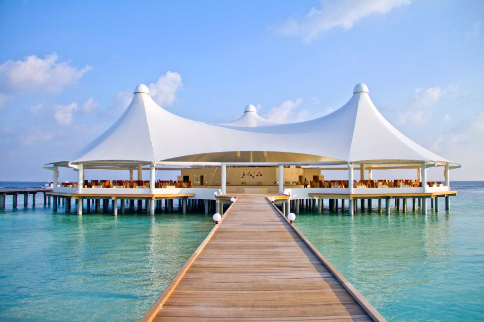 Maldives shade sail project