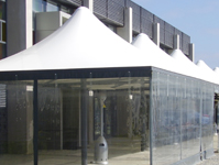 Commercial and residential shade sails