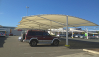 Shopping Centre Carpark Shade Sail