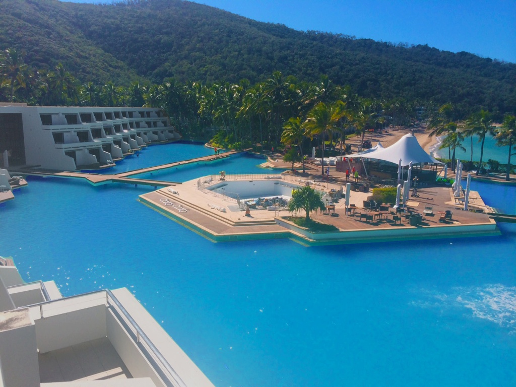 Finally finished the Swimming pool liner renovation at Hayman Island, 2104.