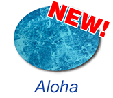 aloha inground swimming pool liner colour