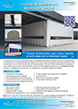 Industrial warehouse and weather curtain brochure for Download