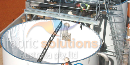Commercial tank liners for commercial and industrial tank applications