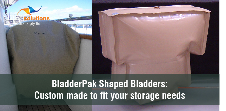 Shaped Bladders for custom storage of drinking water and other industrial liquids