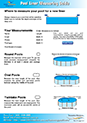 Pool Measurement Guide Download