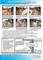 Overflow pipe installation guide
