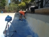 Measuring a pool with our 3D measuring equipment 2
