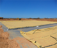 picture of a 3 million litre remote water storage installation