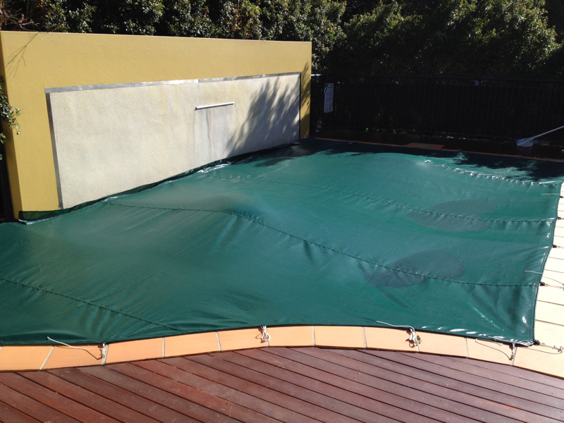 debris covers can be custom made to fit any pool