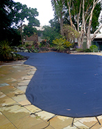 because a debris cover is custom made, it will fit your pool, no matter what the shape